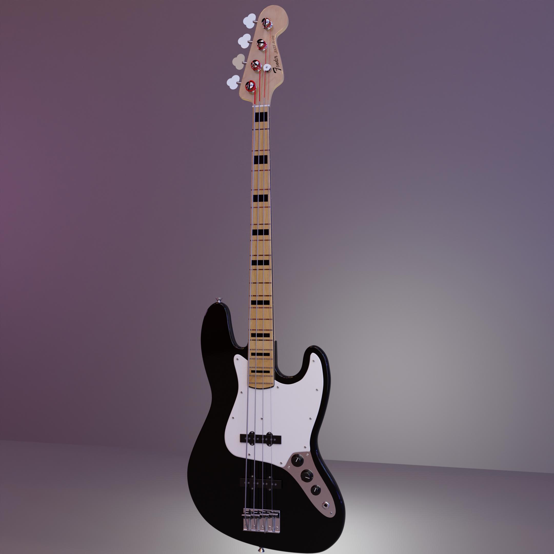 Jazz Bass Final HDRI Full Shot
